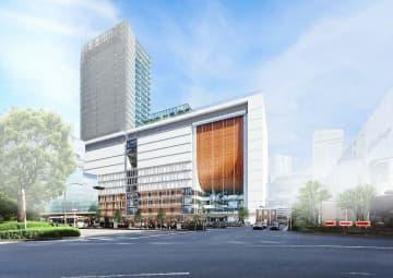 JR横浜タワーのイメージ図(同社提供)