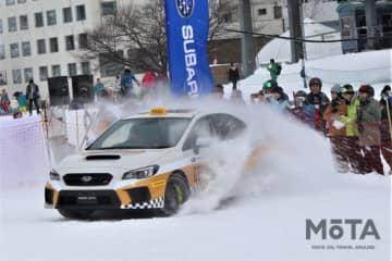 SUBARU GELANDE TAXI 2020(スバル・ゲレンデタクシー 2020) 【2020年1月18日・苗場スキー場(新潟県)/使用タイヤ:ダンロップ スタッドレスタイヤ「WINTER MAXX」シリーズ】