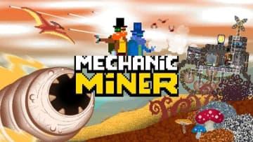 蒸気駆動マシンを構築する物理サンドボックス『Mechanic Miner』正式リリース日決定!