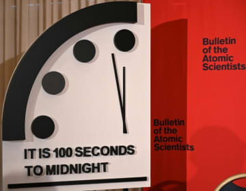"""We are now expressing how close the world is to catastrophe in seconds – not hours, or even minutes,"" said Rachel Bronson, president of the Bulletin of the Atomic Scientists in announcing the change."