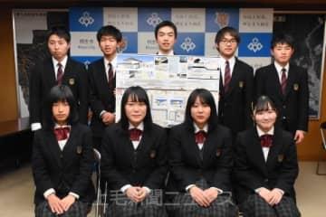 建築甲子園で優勝した桐生工業高の生徒