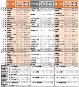 救急協力医11月15日(金)~12月5日(木)