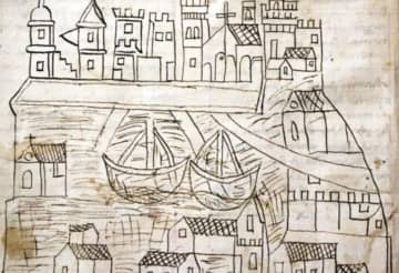 Historian finds 14th century sketch of Venice