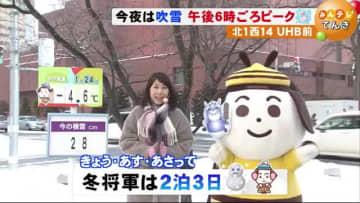 【北海道の天気 1/24(金)】今年最強の冬将軍 週末は今季一番の寒さに