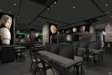 SQUARE ENIX CAFE 店内イメージ