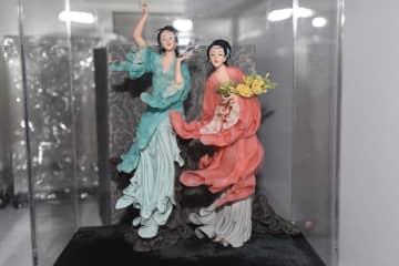 約40年にわたり伝統芸術作品を制作 天津に伝わるしん粉細工職人