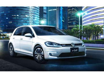 欧州では電気自動車に対する関心の高まりによって、VWは対前年比約8割増となる14万台以上を販売したVW電動車の旗艦「VW_e-Golf」
