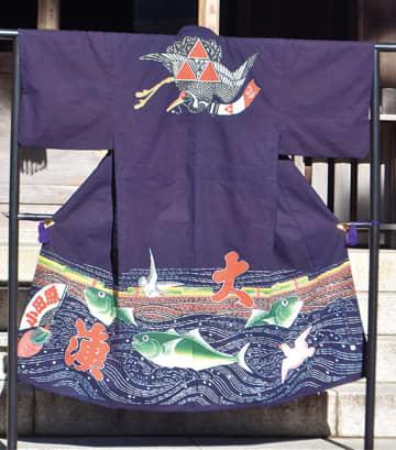 小田原かまぼこ通り 漁師の万祝(まいわい)が復活 文化継承と観光活性化に期待