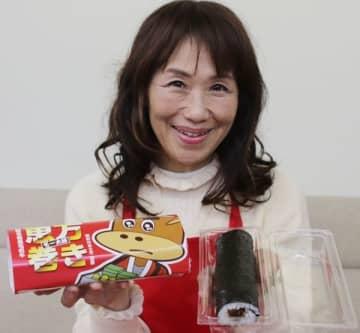 松阪 和牛しぐれ煮で恵方巻き 来月1―3日、新竹商店が販売 三重