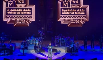 Saudi Arabia's AlUla provides a perfect 'Corner of the Earth' for Jamiroquai to shine