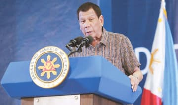 Earlier, Duterte said he would give the US a month to restore Dela Rosa's visa.