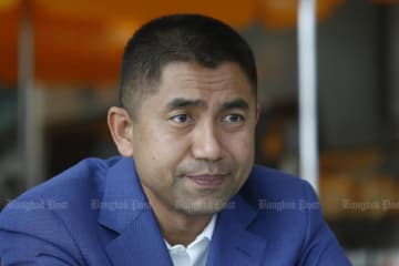 """Pol Lt Gen Surachate """"Big Joke"""" Hakparn is warned to observe official codes of conduct. (Photo by Pattarapong Chatpattarasill)"""