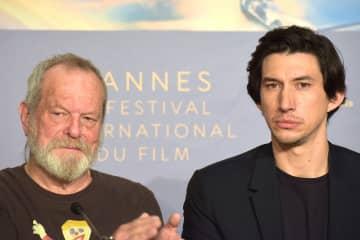 第71回カンヌ映画祭 (左)テリー・ギリアム監督 (右)アダム・ドライヴァー