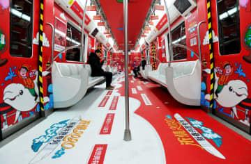 新しい年へ願い込め、「新春願掛け列車」を運行 遼寧省大連市