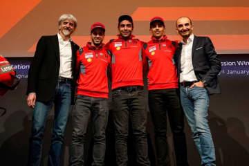 MotoGP:ドゥカティ代表のダリーニャ「目標はタイトル獲得。完全に満足しているとは言えない」