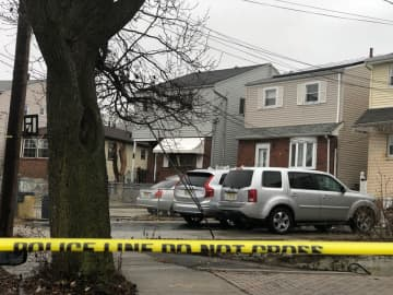 A newborn baby was found dead inside a home on Suburbia Court in Jersey City on Saturday, Jan. 25, 2020. (Adrienne Romero | The Jersey Journal)/)