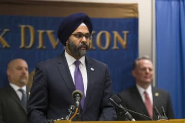 New Jersey Attorney General Gurbir Grewal is pictured last year. (Steve Hockstein | For NJ Advance Media/)