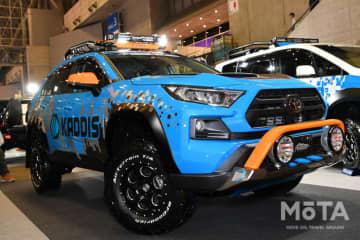 ロードハウスブース 新型RAV4 東京オートサロン2020