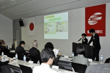 県内の教育現場での新聞活用事例報告などがあった県NIEセミナー