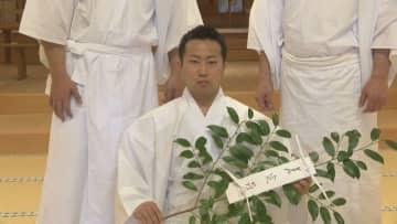 天下の奇祭、国府宮「はだか祭」の「神男」決まる 愛知・稲沢市
