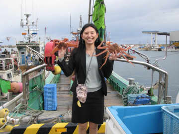 FEATURE: Ex-nurse helping revive struggling fishing business in Hokkaido