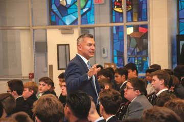 First layman to lead St. Peter's Prep is its biggest cheerleader, too | Faith Matters