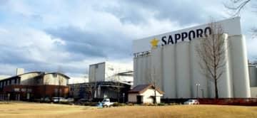3月に20周年を迎えるサッポロビール九州日田工場=日田市高瀬