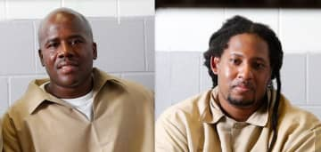 Kevin Baker, left, and Sean Washington have spent 25 years behind bars for murders they say they did not commit. (Aristide Economopoulos | NJ Advance Media for NJ.com) (Aristide Economopoulos/)
