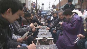 """千葉産で「さんま祭り」 不漁続き""""丸干し味わって"""" 三重・熊野市"""