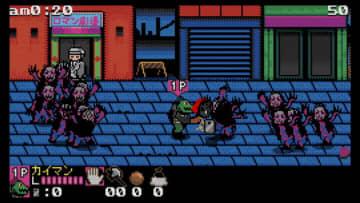 「ドロヘドロ」人気エピソード「リビングデッドデイ」テーマの8bitゲーム登場!カイマン・ニカイドウを操作して、ゾンビの襲撃を生き延びろ