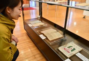 寺山修司記念館で展示されている俳句雑誌「青年俳句」