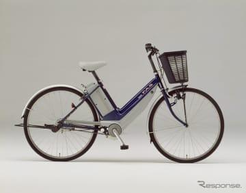 世界初の電動アシスト自転車「ヤマハパス」(1993年)