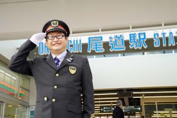 JR尾道駅は2019年3月10日リニューアル 新駅長さんは2019年6月に赴任したばかり