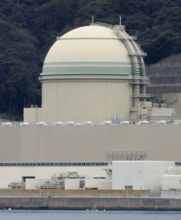 関西電力高浜原発3号機=27日午後、福井県高浜町