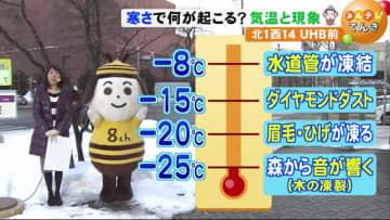 【北海道の天気 1/27(月)】 あす朝は今季一番の冷え込み 水道管が凍り、森から音が響く!?