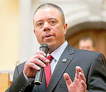 "Assemblyman Parker Space (R-Sussex, Warren, Morris), is peddling all kinds of nonsense about our state's ""red flag"" law.  (NJ Advance Media file photo/)"