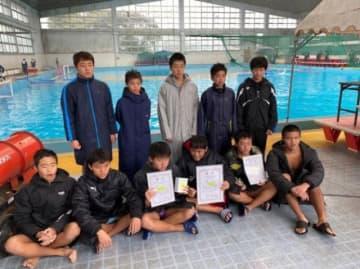 全国JOCジュニアオリンピック春季大会九州地区予選のB区分で準優勝したサンフラワー(チーム提供)