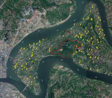 漢から明清時代にかけての遺跡115カ所を発見 重慶市