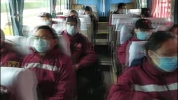 福建省の初の医療チーム、湖北省へ出発 武漢の新型肺炎対策を支援