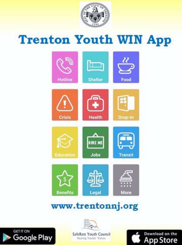 - WIN application provides information for homeless youth in Trenton. Connor Ilchert (Connor Ilchert/)