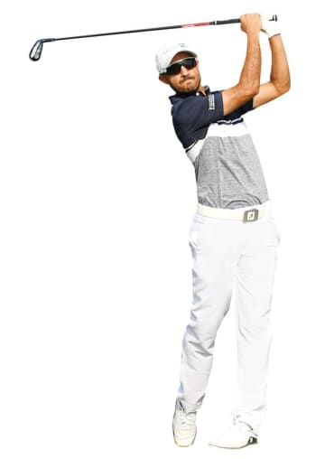 Othman Almulla during his debut at the Saudi International golf tournament last year. (Photo/Supplied)