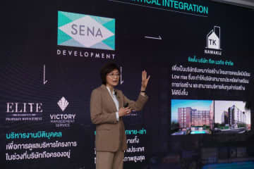 Ms Kessara unveils Sena's outlook for the property industry and the company's plans for this year.