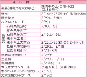 第63回文京梅まつり/ガイドツアー