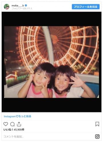 左が萌歌、右が萌音 - 画像は上白石萌歌Instagramのスクリーンショット