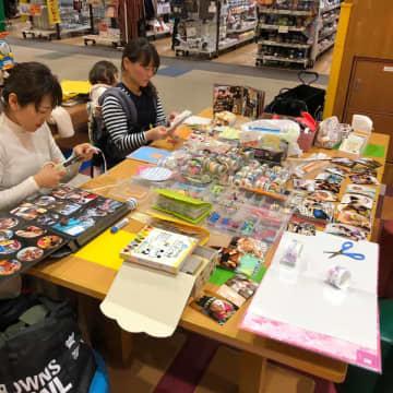 フォレオ大津一里山にてごほうびサロン「アルバムをデコろう!」が開催されました!