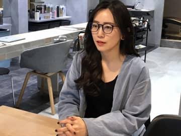 大阪・靭公園近くの美容院「:ideal」を経営する北村由華さん