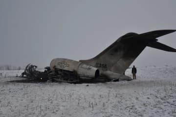 米航空機、アフガンで墜落 タリバンが撃墜主張