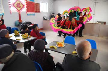 高齢者施設「幸福院」で春節を迎える 山東省日照市