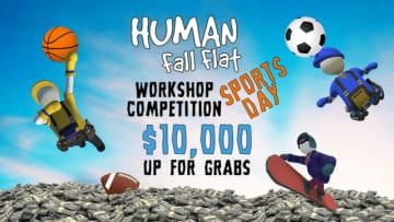 『Human: Fall Flat』でスポーツテーマのステージ作成コンペを開催中!採用者には10,000ドルの賞金も