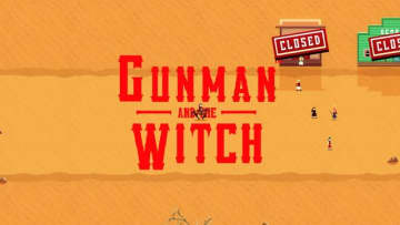 ACT&経営西部劇『Gunman And The Witch』配信決定!魔女の少女の力を借りてアウトローと戦え
